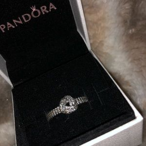 Pandora knot ring. So cute!!! New.